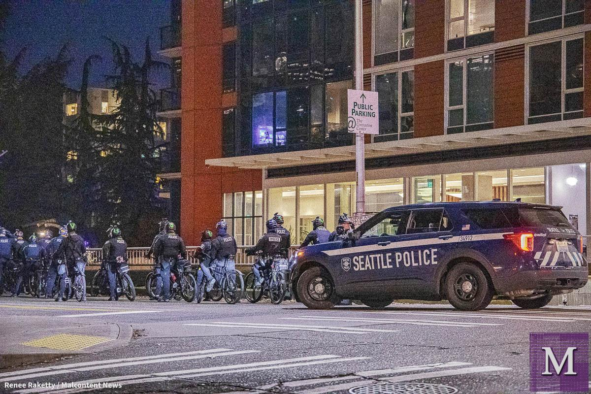 Inauguration Day Protests in Seattle - January 20, 2021