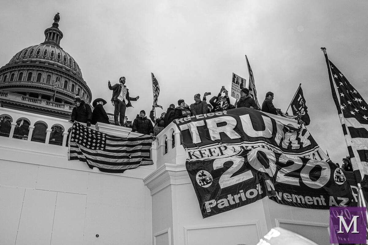Attack on the U.S. Capitol on January 6, 2021 - Photos by Nate Gowdy